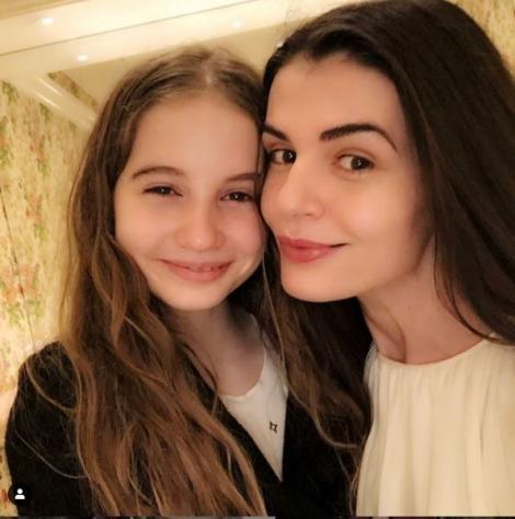 Fiica Monicăi Gabor și a lui Irinel Columbeanu, cuceritoare la 13 ani! A ajuns o adevărată vedetă, pe Instagram | Foto