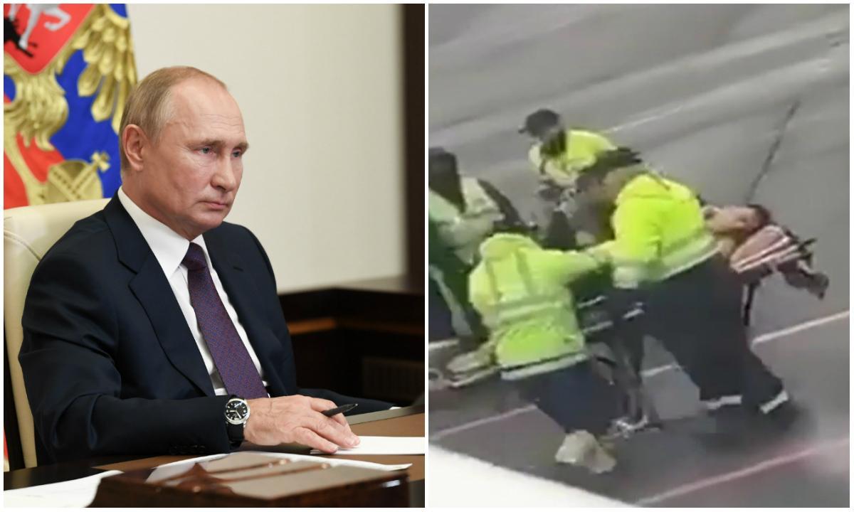 Vladimir Putin, în impas! Principalul său rival, otrăvit pe un aeroport din Rusia, ar putea fi salvat