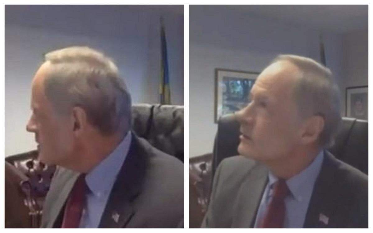 """""""F***, f***, f***!"""". Un senator, gafă uriașă! A înjurat ca la ușa cortului, într-o ședință online, când credea că nu îl aude nimeni! Video"""