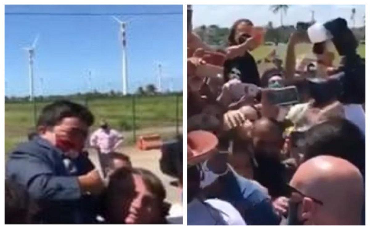 S-a făcut de rușine pentru toată viața! Preşedintele Braziliei a ridicat pe umeri un bărbat cu nanism, crezând că era un copil! Video