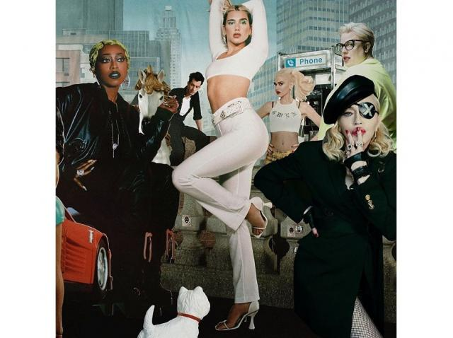 """Gwen Stefani, Madonna şi Missy Elliott, pe albumul """"Future Nostalgia"""" remixat al cântăreţei Dua Lipa"""