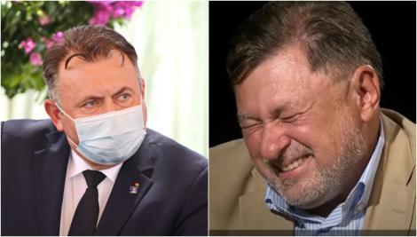 """Prima reacție a lui Nelu Tătaru, după ce i-a provocat o criză de râs lui Alexandru Rafila: """"Cred că și-a dat seama și va încerca să explice"""""""