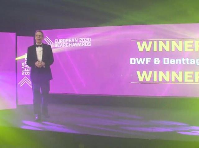 DWF & Denttaglio - Premiu pentru cea mai bună campanie SEO din Europa în domeniul sănătății