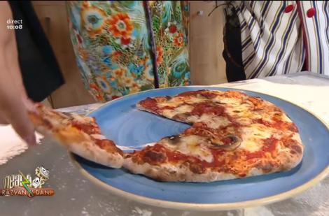Concurs de pizza între matinalii de la Neatza cu Răzvan și Dani. Cine a primit notă maximă de la Vlăduț?
