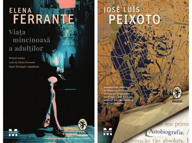 O carte recentă semnată Elena Ferrante şi un roman inspirat din relaţia lui José Luís Peixoto cu Saramago, publicate în România