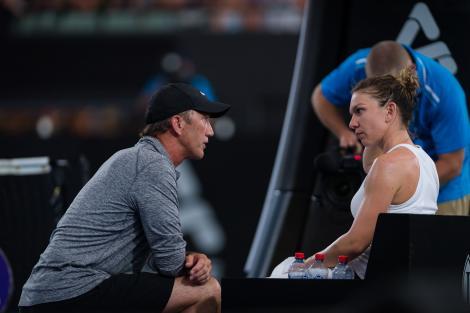 Reacția lui Darren Cahill după ce Simona Halep a devenit campioană la Roma. Mesajul transmis de antrenor