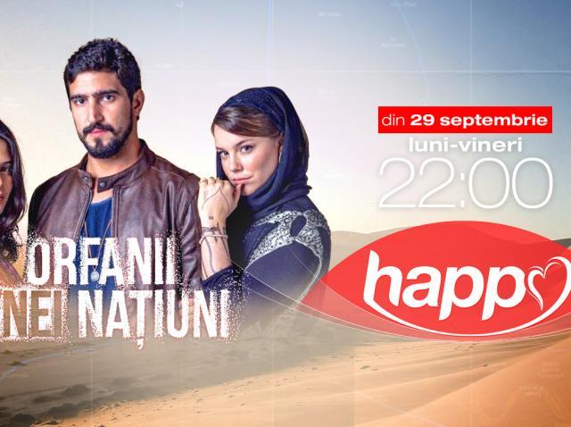 Happy Channel difuzează producţia braziliană Orfanii unei naţiuni, din 29 septembrie de la ora 22:00