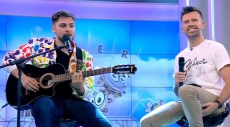 Florin Ristei și Adrian Petrache, duet de senzație la Neața cu Răzvan și Dani. Interpretarea celor doi a stârnit aplauze