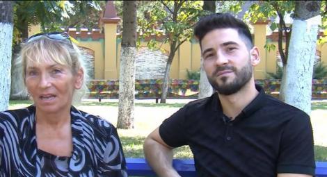 Doamna Mia și fiul său, David, în filmulețul de prezentare al emisiunii Mireasa, prezentata de Simona Gherghe