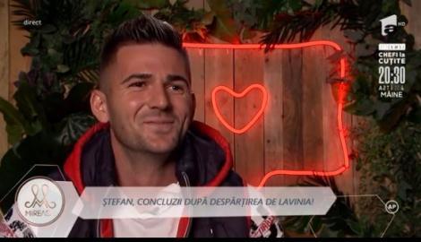 """Ştefan Luca a pus ochii pe Ștefania. """"Ești frumoasă!"""" Care a fost răspunsul frumoasei brunete"""
