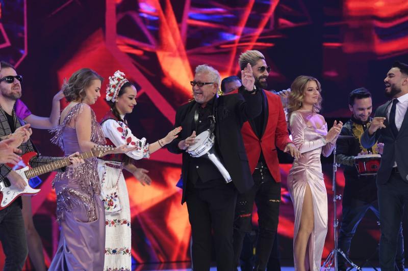 Vedetele au cântat și au dansat la Revelionul Starurilor 2021, de la Antena 1