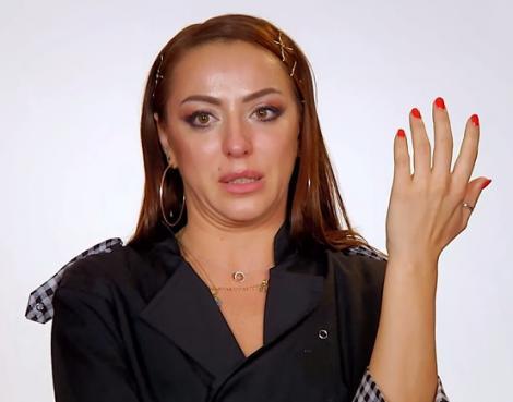 """Lavinia Ilcău, surprinsă când oferă interviu în cadrul emisiunii """"Chefi la cuțite"""", sezonul 8"""