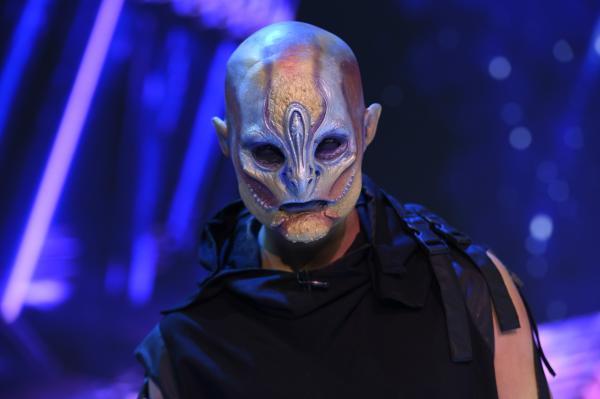 Masca Extraterestru, Revelion 2021, costum