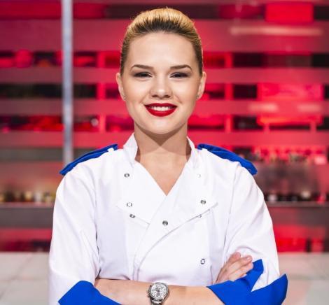 """Îți amintești de Rahela Pîslaru de la """"Chefi la cuțite""""? A devenit mamă și are un look nou! Cum arată azi"""