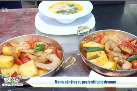 Top meniuri gustoase și sănătoase cu pește și fructe de mare