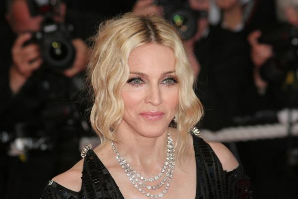 Madonna, portret realizat la un eveniment