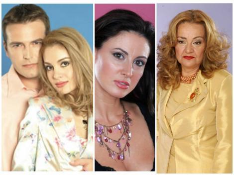Colaj cu actorii din Secretul Mariei, Ioan Isaiu, Anemona Niculescu, Dana Crișan și Olga Delia Mateescu