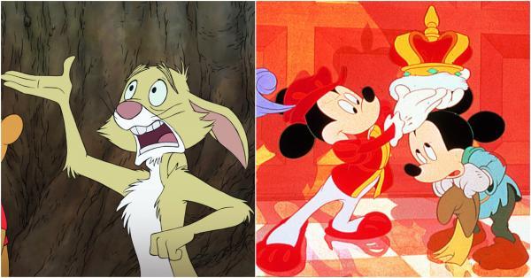 Colaj Mickey Mouse si Winnie the Pooh