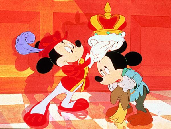 Mickey Mouse in Desen Disney