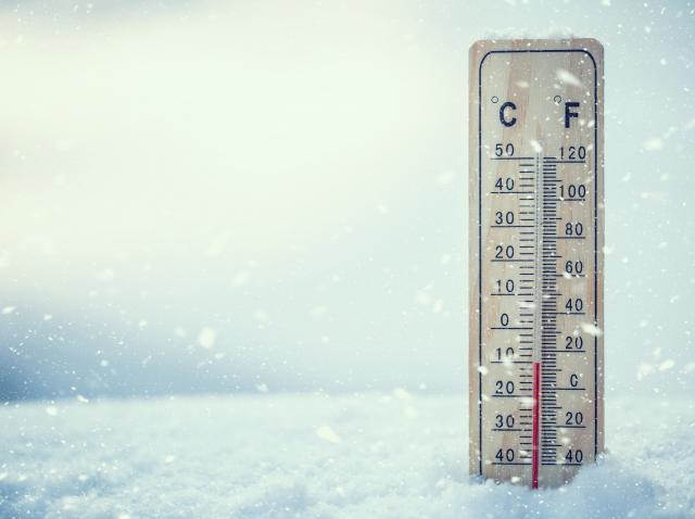 Un termometru in zapada
