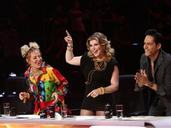 Delia, Loredana și Ștefan Bănică, la masa juriului X Factor