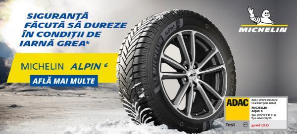 Imagine ilustrativă cu anvelope Michelin