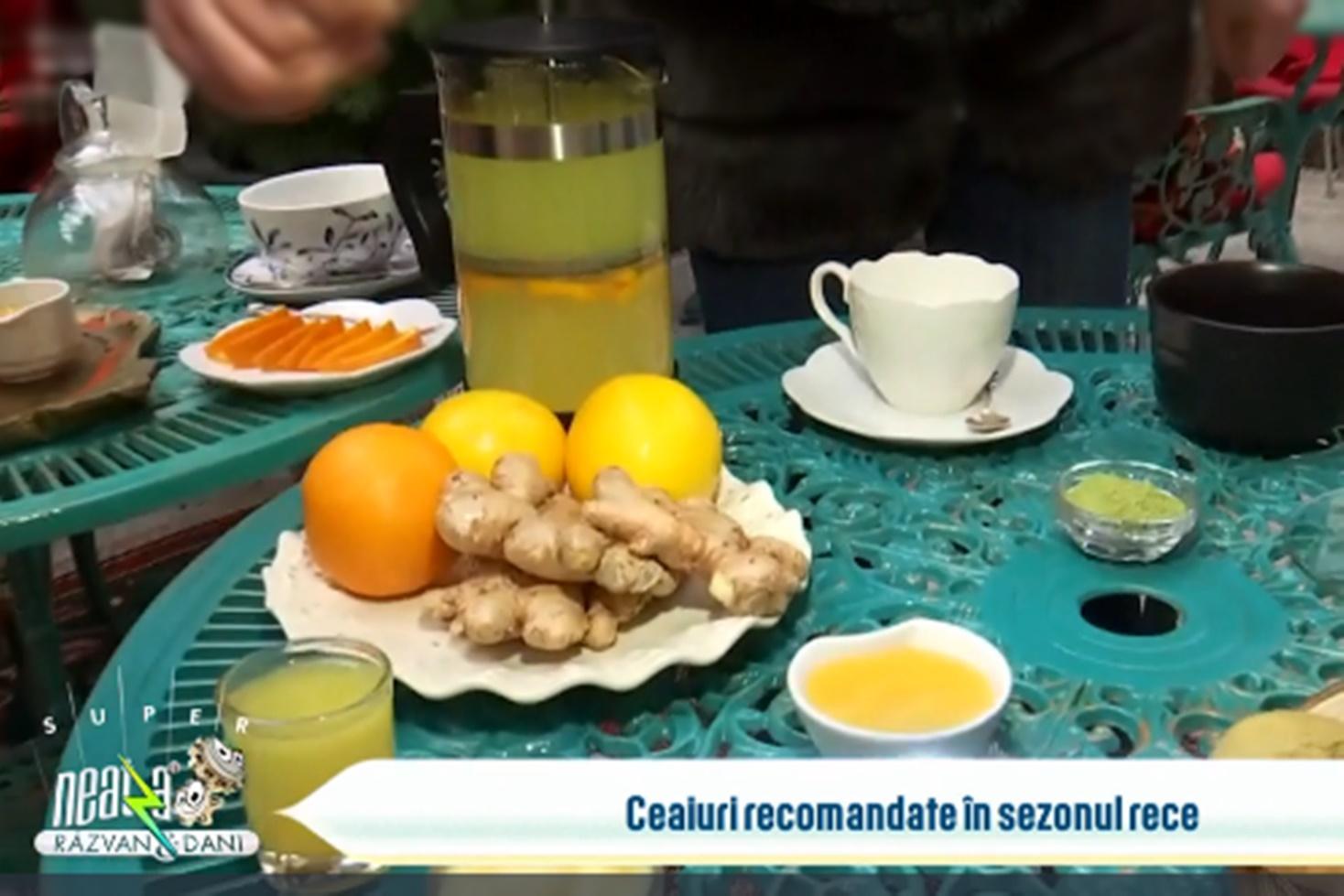 Cele mai utile ceaiuri în sezonul rece, recomandate de specialiști la Neatza cu Răzvan și Dani
