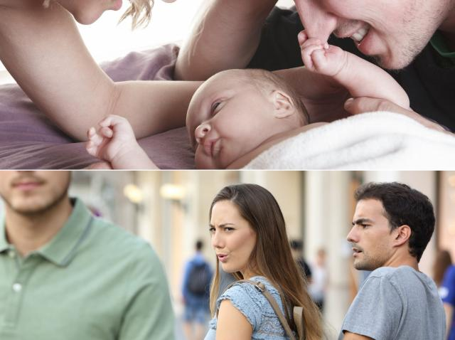 mama si tatal copilului care a primit numele fostului iubit