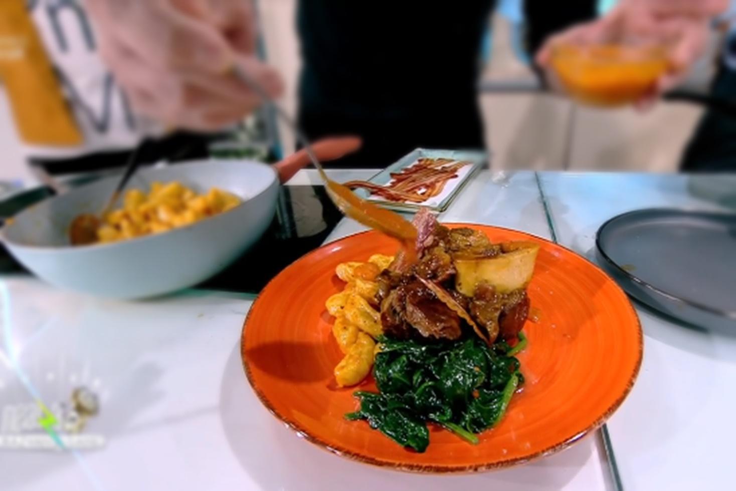 Rețetă de gnocchi cu spanac și osso buco, gătită de Chef Nicolai Tand la Neatza cu Răzvan și Dani