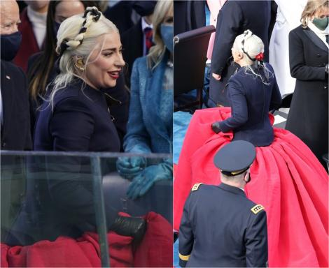 Lady Gaga cântă la inaugurarea președintelui Joe Biden