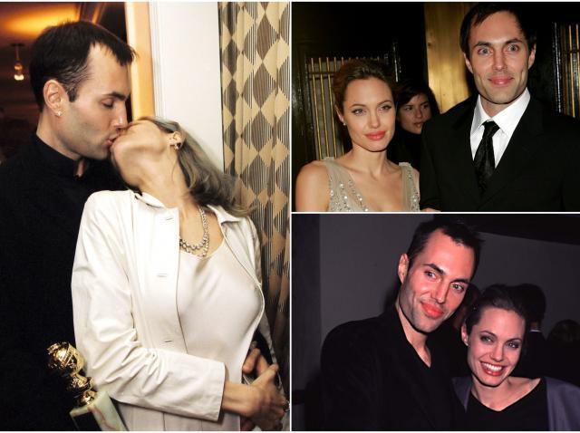 Cplaj Angelina Jolie si fratele ei James Haven