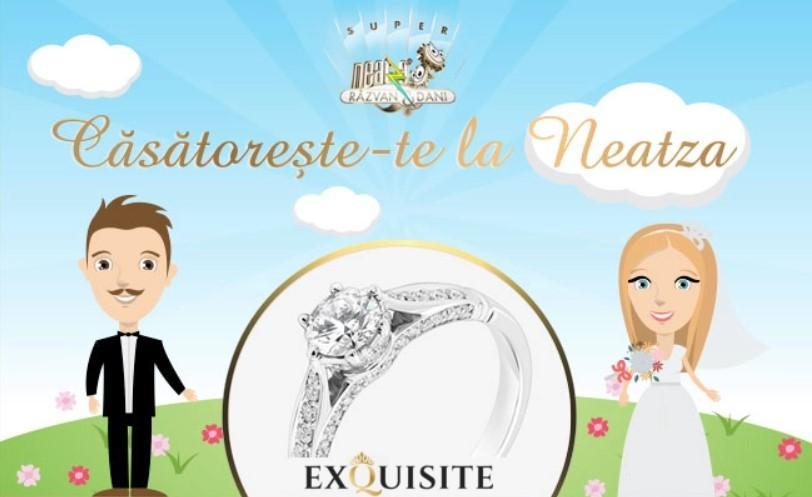 """Sărbătorește Valentine's Day într-un mod unic și """"Căsătorește-te la Neatza"""". Cum te poți înscrie și câștiga inelul de logodnă"""
