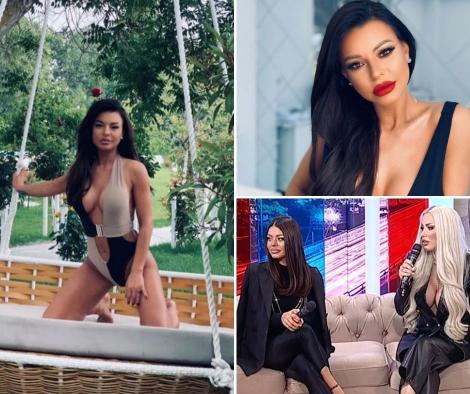 Ana Maria Mocanu in trei ipostaze diferite, iar in cea de-a treia imagine se afla cu Loredana Chivu