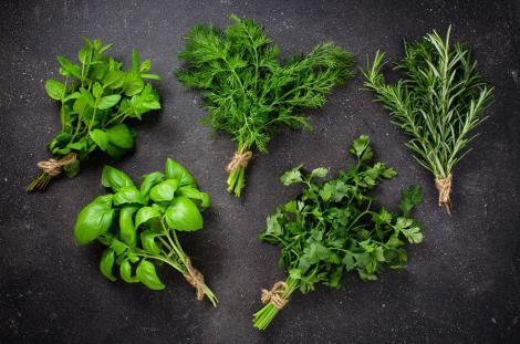 verdețuri aromatice