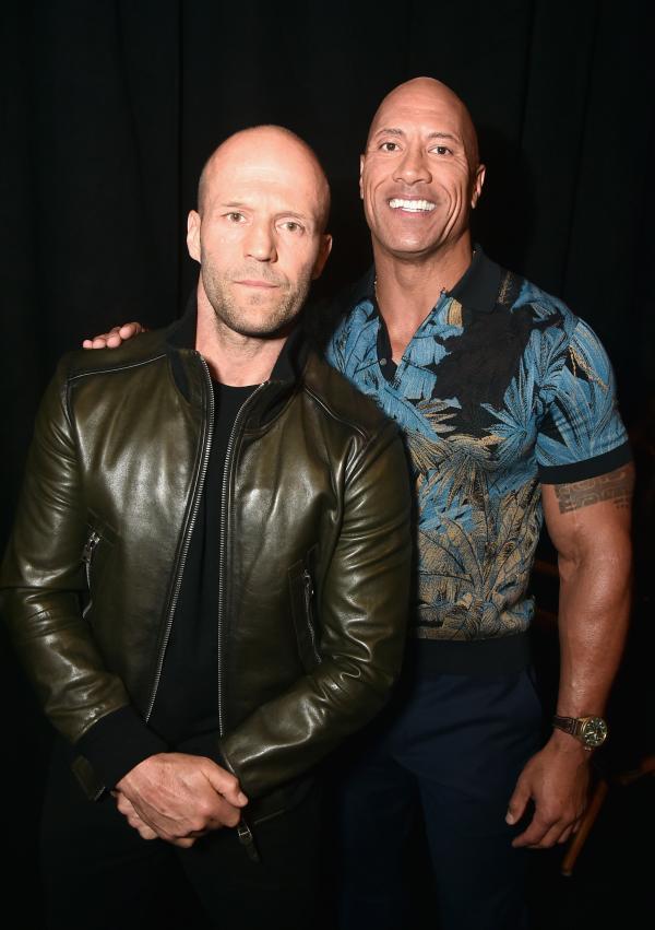 Jason Statham si The Rock