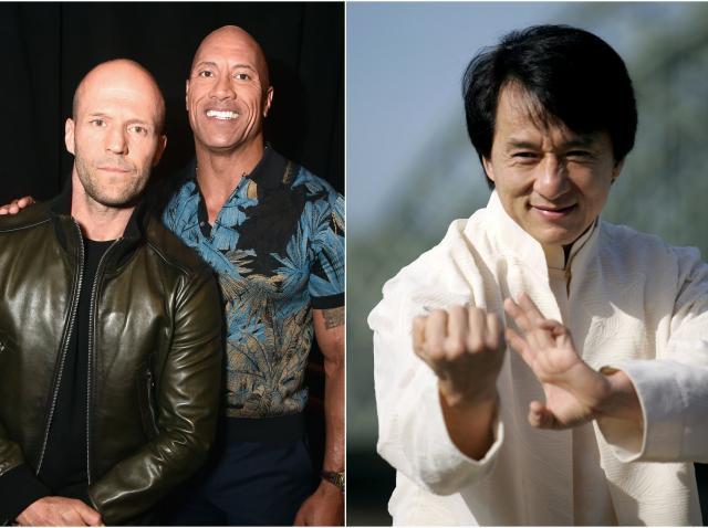 Colaj Jason Statham, Jackie Chan