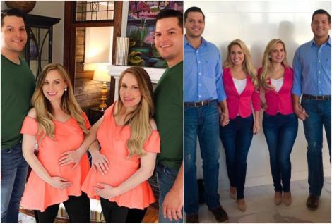 Gemenele identice care s-au căsătorit cu gemeni identici și sunt însărcinate în același timp. Ce alte obiceiuri bizare au