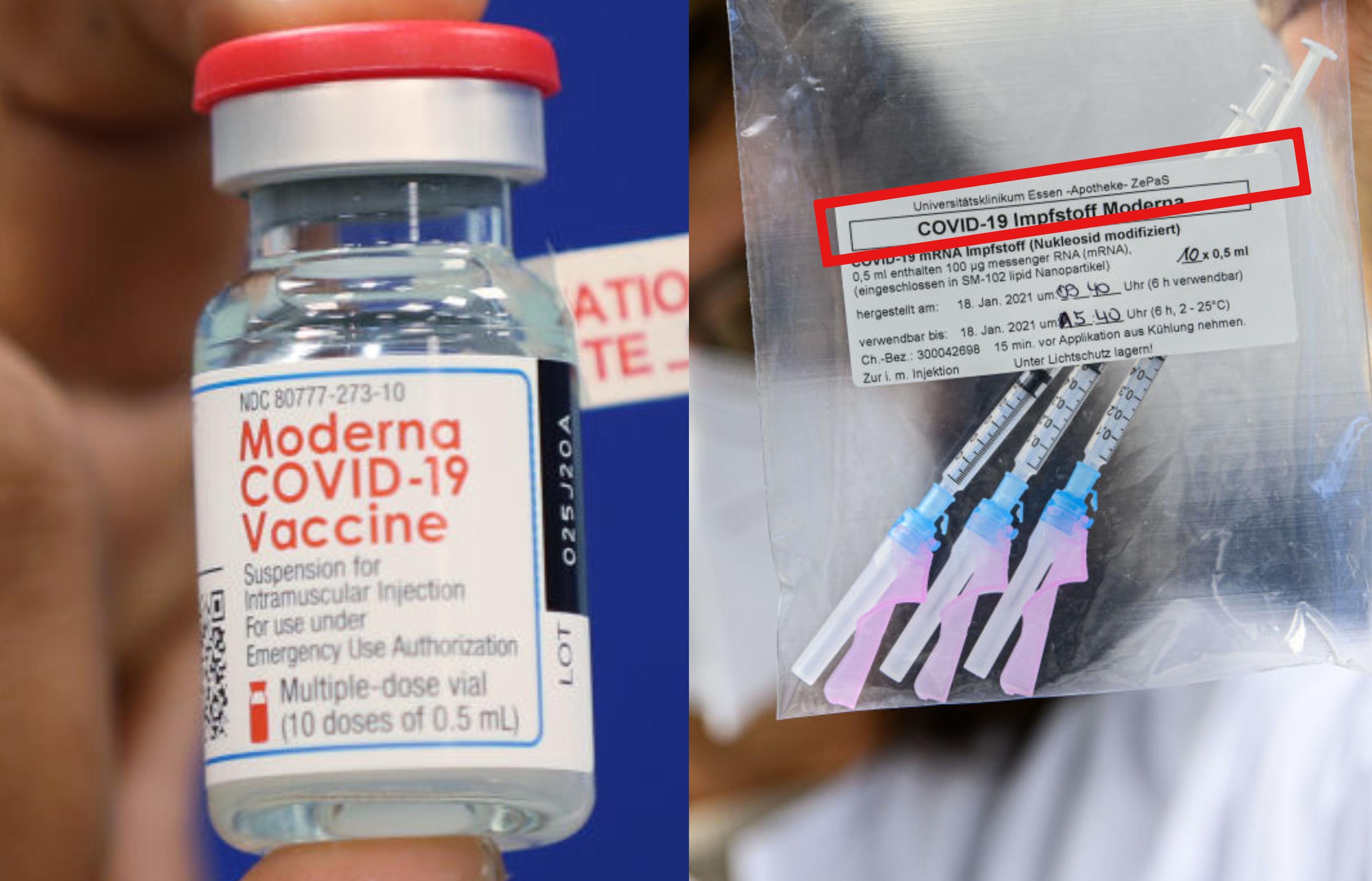 Când începe să se administreze vaccinul Moderna, în România. La câte zile se va face doza de rapel și care sunt persoanele vizate