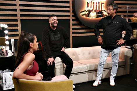 """Sorin Bontea, Speak și Ștefania, în culisele sezonului 8 """"Chefi la cuțite"""""""