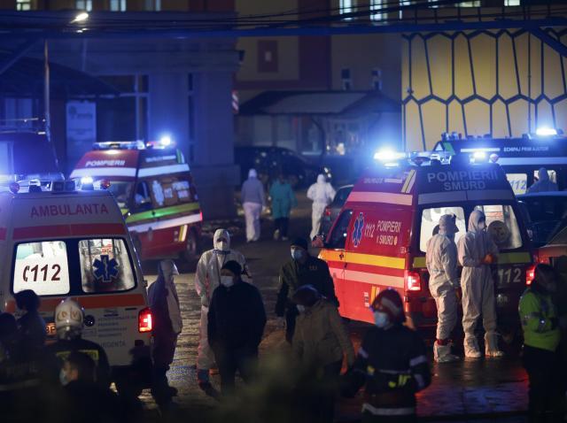 Echipajele d eintervenție de la incendiul izbucnit la Matie Balș