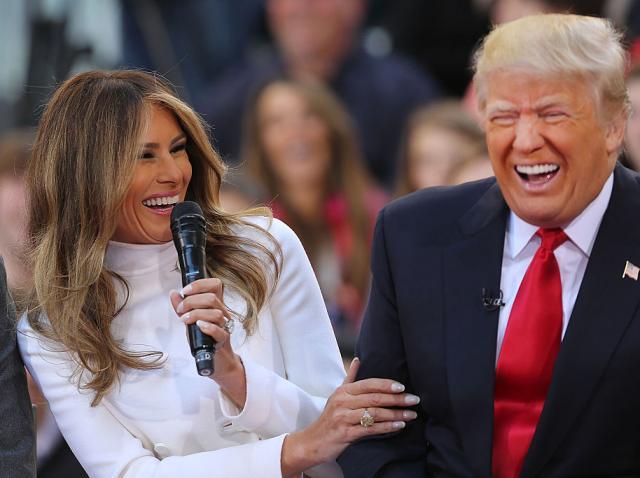 Melania Trump și Donald Trump