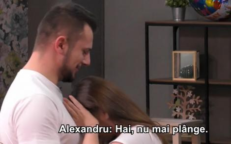 Alexandru de la Mireasa a făcut marele pas în timpul unei emisii