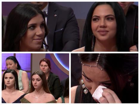 Claudia, în lacrimi, la auzul nominalizărilor băieților din casa Mireasa