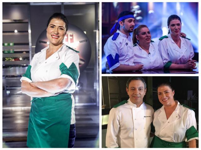 COlaj cu Marlena Boteazatu, Sorin Bontea și ceilalți doi finaliști ai sezonului 5 Chefi la cuțite
