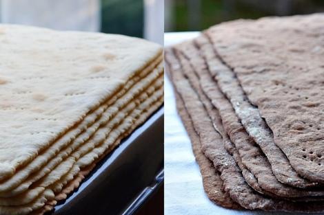 Două rețete de foi pe dosul tăvii pentru prăjituri