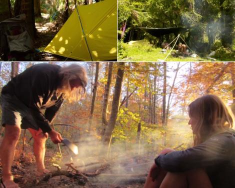 miriam si peter lancewood in timp ce petrec o zi in natura