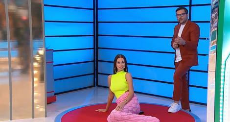 Prețul cel bun, 4 octombrie. Iuliana Luciu, într-o pătură cu coadă de sirenă, în emisiunie. Ce a rugat-o Liviu Vârciu să facă