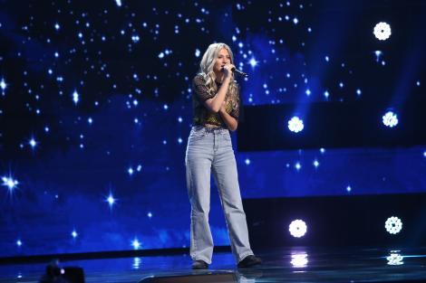 X Factor 2021, 8 octombrie. Larisa Olaru a interpretat piesa Call Out My Name și a surprins jurații la primele note