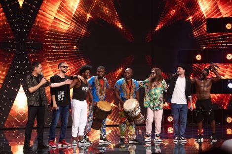 X Factor 2021, 8 octombrie. Flow Fusion: ADN, Krem și Mistah White show de zile mari. Mișcările și versurile care au surprins