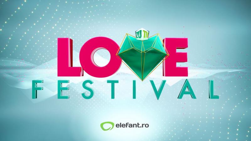 Imagine ilustrativă cu sigla concursului Love Festival-Zu Tv